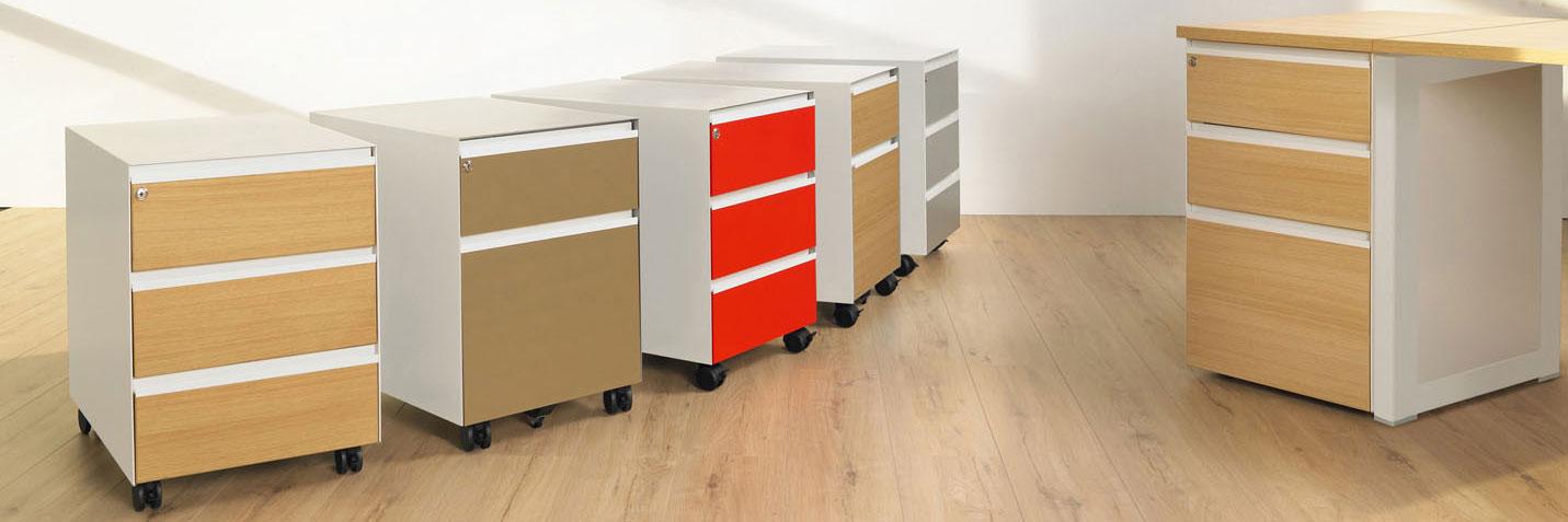 Mobilier de bureau zoom sur le caisson de bureau - Mobilier de bureau montpellier ...