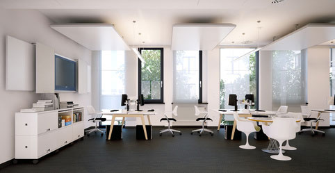 Aménagement de bureau et environnement de travail