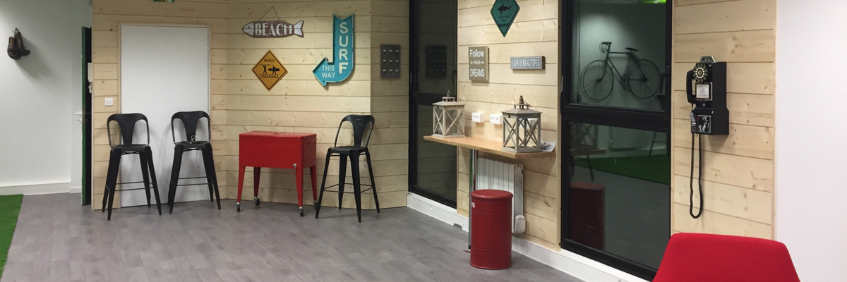 Des bureaux de start-up designs et originaux
