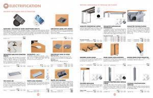 Accessoires pour meubles de bureau