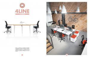 Les mobiliers d´entreprise 4 line