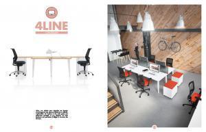 Mobilier professionnel de bureau 4LINE